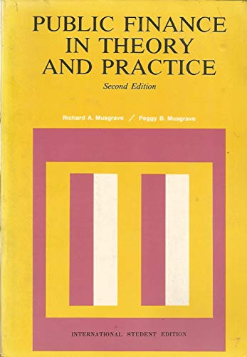 9780070441217: Title: Public finance in theory and practice