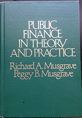 9780070441224: Public finance in theory and practice