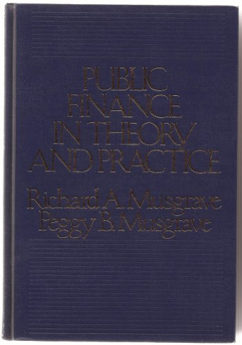 9780070441262: Public Finance in Theory and Practice