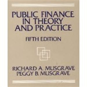 9780070441279: Public Finance in Theory and Practice