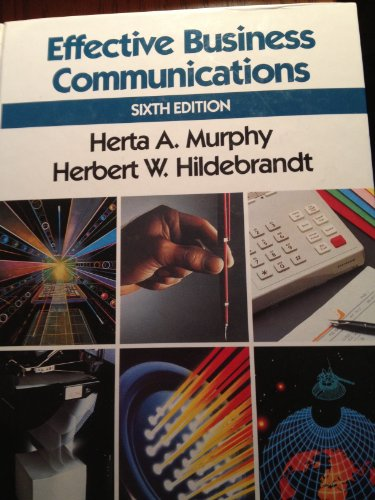 9780070441576: Effective Business Communications