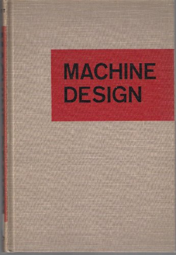9780070441682: MACHINE DESIGN: An Introductory Text.