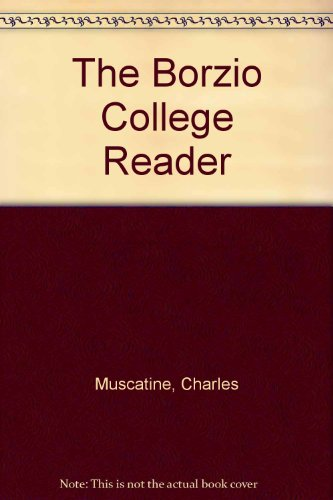 9780070441996: The Borzio College Reader