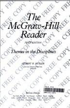 The McGraw-Hill Reader: Themes in the Disciplines
