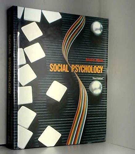9780070442832: Social Psychology