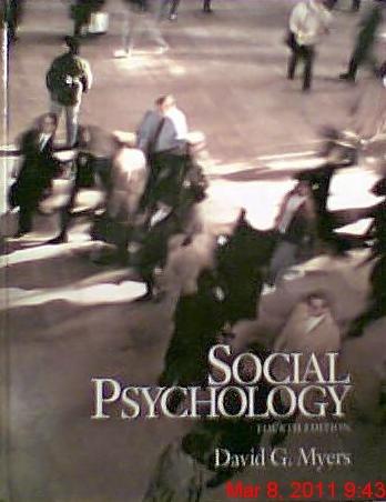 9780070442924: Social Psychology