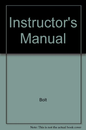 9780070442931: Instructor's Manual