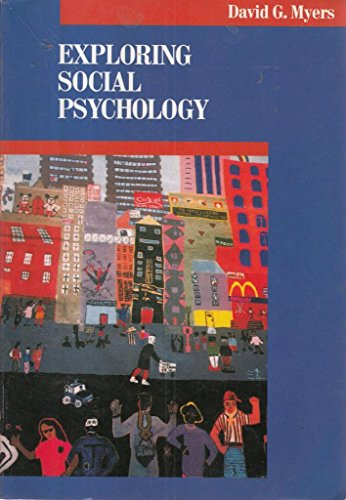 9780070442962: Exploring Social Psychology (The McGraw-Hill series in social psychology)