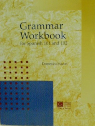 9780070443327: Grammar Workbook for Spanish 101 and 102