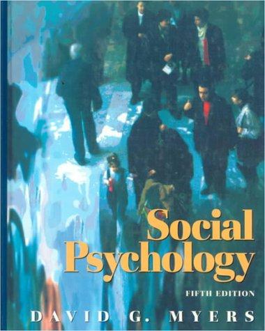 9780070443778: Social Psychology