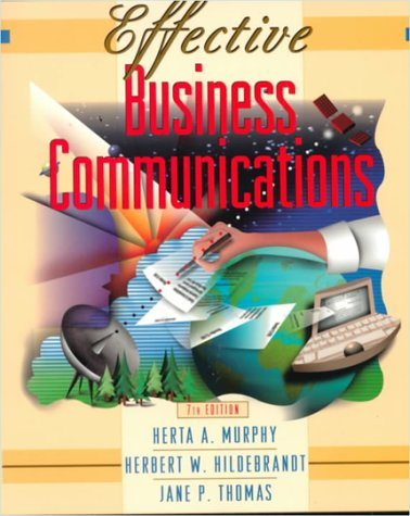 9780070443983: Effective Business Communications