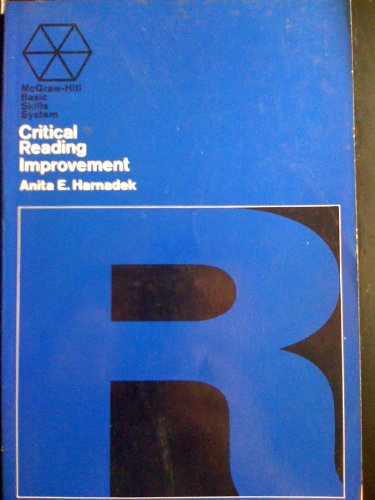 9780070444126: Critical Reading Improvement (McGraw-Hill Basic Skills)