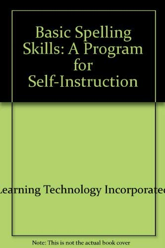 9780070444157: Basic spelling skills: A program for self-instruction