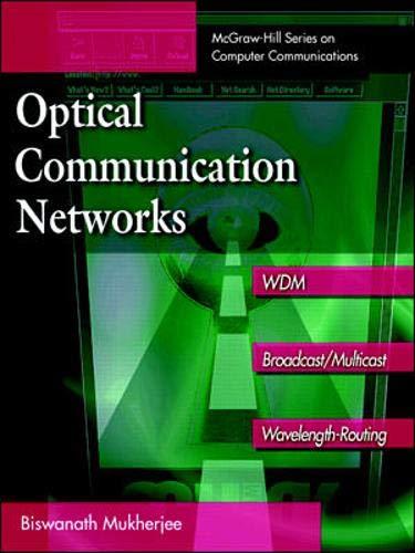 9780070444355: Optical Communication Networks
