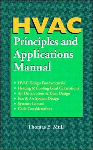 9780070444515: HVAC Principles and Applications Manual