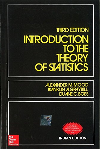 9780070445208: Introduction to the Theory of Statistics 3ED