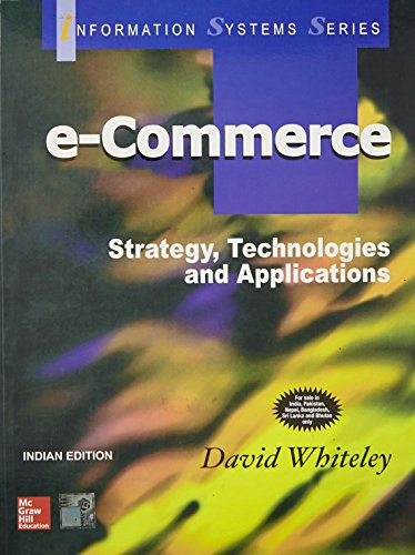 9780070445321: E-Commerce: Strategy, Technologies And Applications