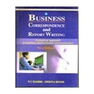 9780070445550: Business Correspondence and Report Writing