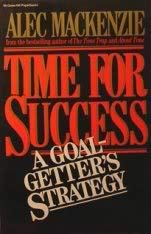 9780070446557: Time For Success: A Goal Getter's Strategy