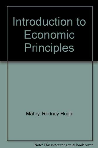 9780070447974: Introduction to Economic Principles