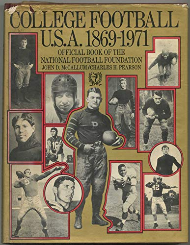 9780070448018: College football, U.S.A., 1869-1971;: Official book of the National Football Foundation