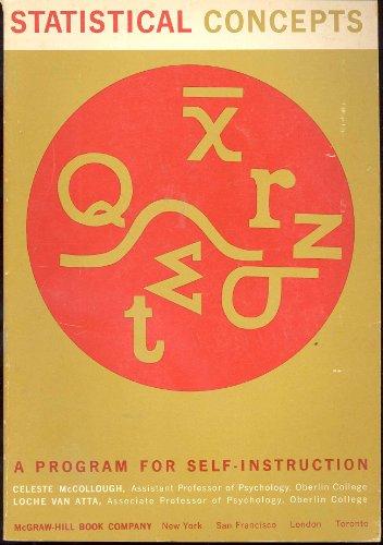 Statistical Concepts: McCollough, C., Atta, L.Van