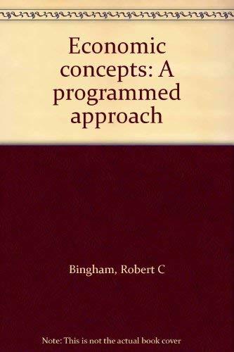 9780070449374: Economic concepts: A programmed approach