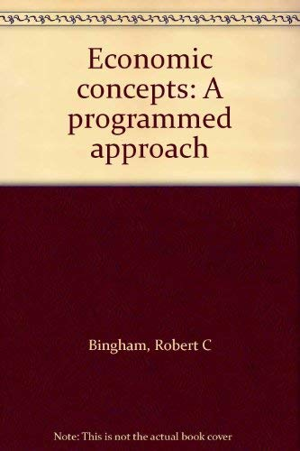 9780070449374: Economic concepts: A programmed approach