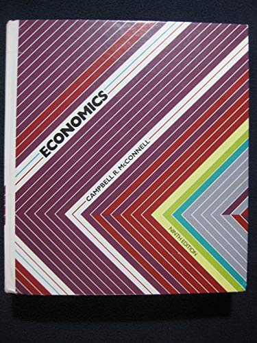 Economics: Principles, problems, and policies: McConnell, Campbell R