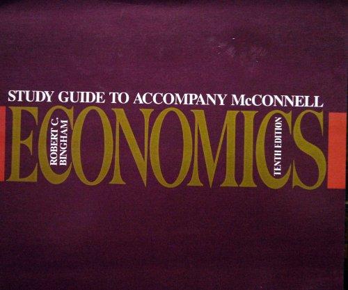 9780070449640: Study Guide To Accompany Mc Connell Economics