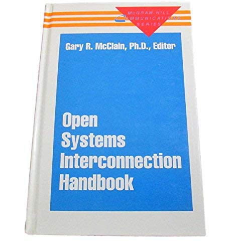 9780070449695: The Open Systems Interconnection Handbook (McGraw-Hill communications series)