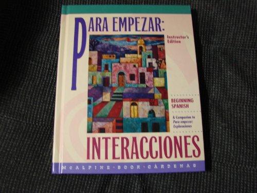 9780070449794: Para Empezar: Beginning Spanish