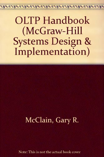 9780070449855: Oltp Handbook (Mcgraw-Hill Systems Design & Implementation)