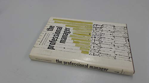 9780070450936: Professional Manager