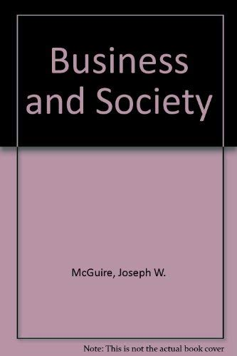 9780070450967: Business and Society