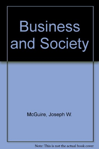 9780070450974: Business and Society