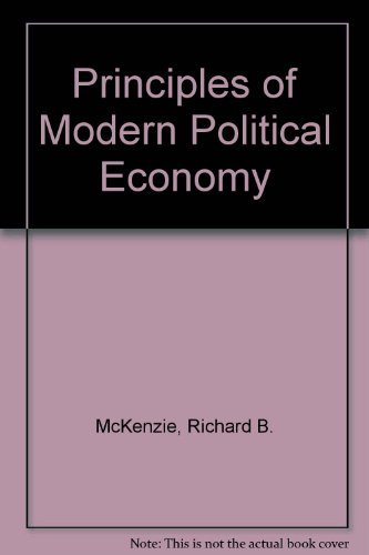 9780070451599: Principles of Modern Political Economy