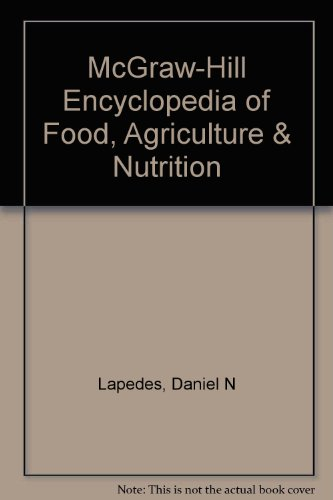 9780070452633: McGraw-Hill Encyclopedia of Food, Agriculture and Nutrition