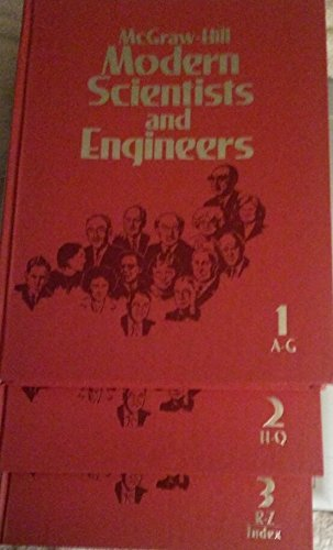 9780070452664: McGraw Hill Modern Scientists and Engineers