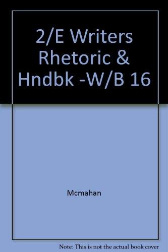 9780070454248: 2/E Writers Rhetoric & Hndbk -W/B 16
