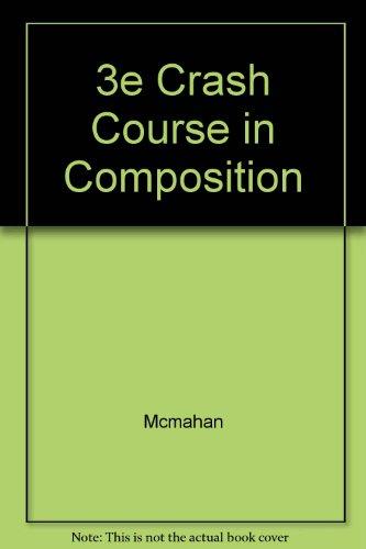 9780070454583: 3e Crash Course in Composition