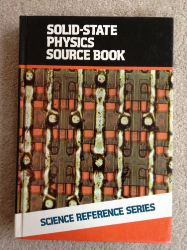 9780070455030: Solid State Physics Source Book (The Mcgraw-Hill Science Reference Series)