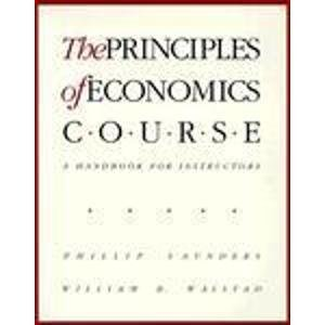 9780070455207: The Principles of Economics Course: A Handbook for Instructors