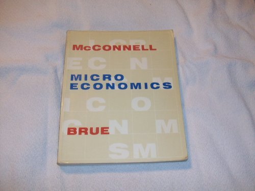 9780070455221: Microeconomics: Principles, Problems, and Policies
