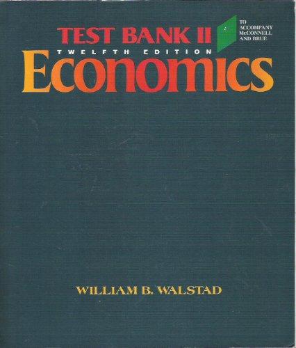 9780070455931: Macroeconomics: Test Bank 2