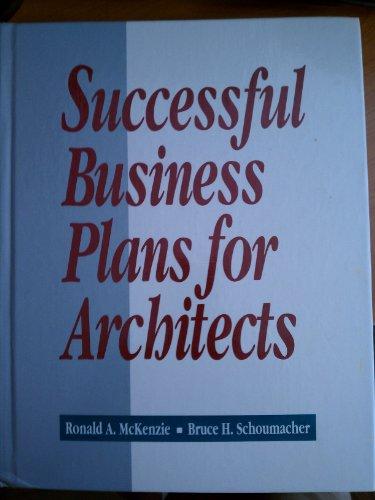 9780070456549: Successful Business Plans for Architects