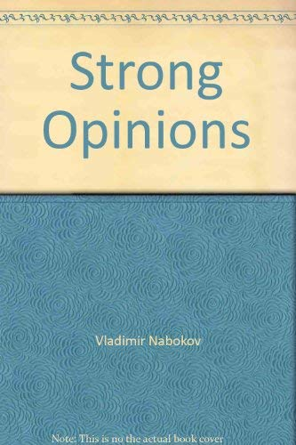 9780070457256: Strong Opinions