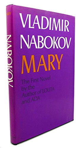 9780070457317: Mary; a novel [by] Vladimir Nabokov. Translated from the Russian by Michael Glenny in collaboration with the author