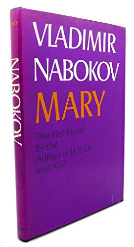 Mary: A novel: Vladimir Nabokov