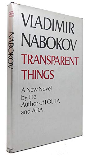 9780070457348: Transparent Things: A Novel